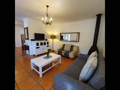 Paradiso Self Catering Two Bedroom Cottage Lounge Area