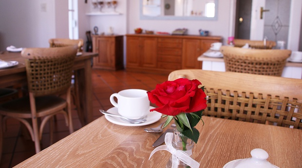 The breakfast experience at Paradiso Guesthouse in Constantia, Cape Town.